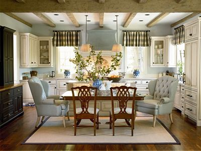 double pedestal table | dining room furniture | thomasville furniture