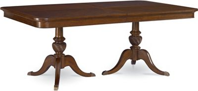 Double Pedestal Table Dining Room Furniture Thomasville Furniture