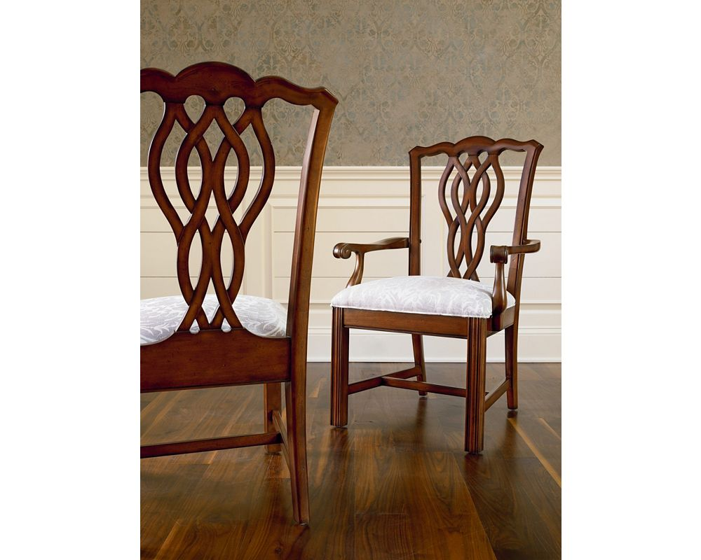 Tate Street Arm Chair Quincy Cherry Thomasville Furniture