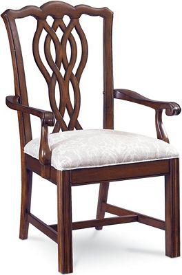 Tate street arm chair quincy cherry