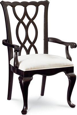 Tate Street Arm Chair (Black Cherry)