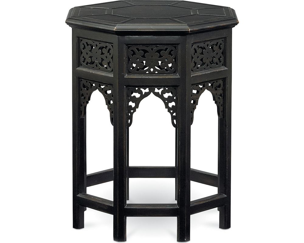 Octagonal Lamp Table