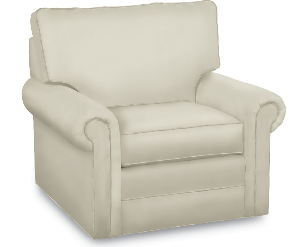 Simple Choices Swivel Base Chair | Living Room Furniture ...