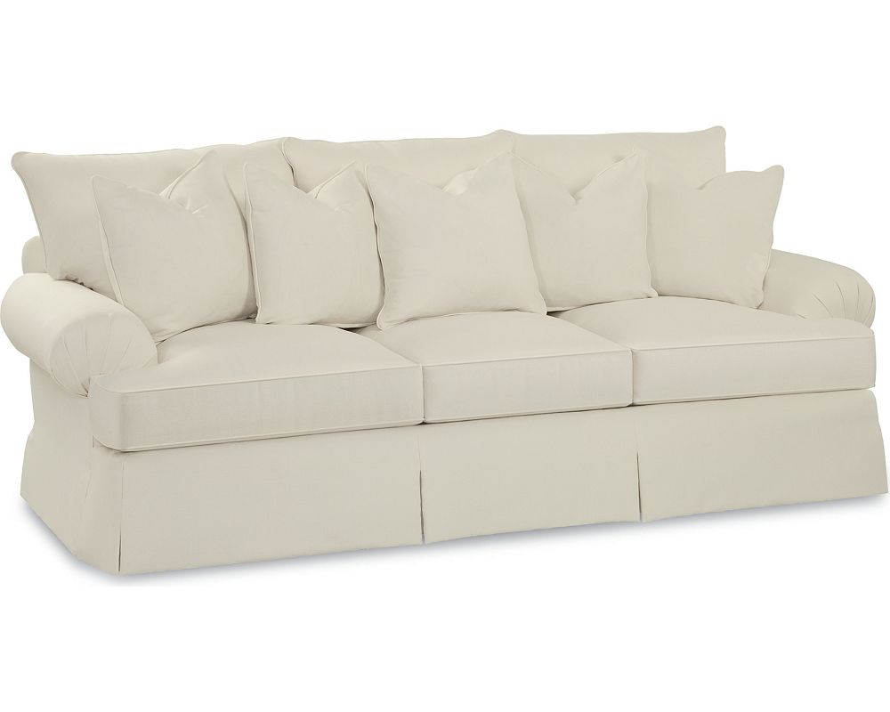 Portofino Large Sofa (Pleated Arm)