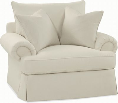 Portofino Chair (Panel Arm, Skirted)