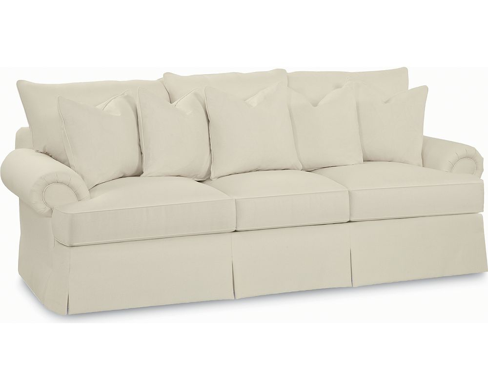 Portofino Large Sofa (Panel Arm, Skirted)