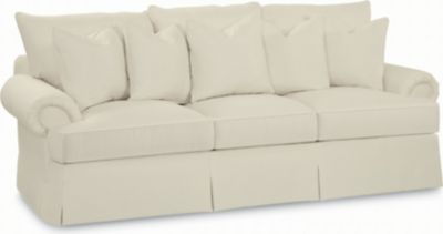 portofino large sofa panel arm skirted