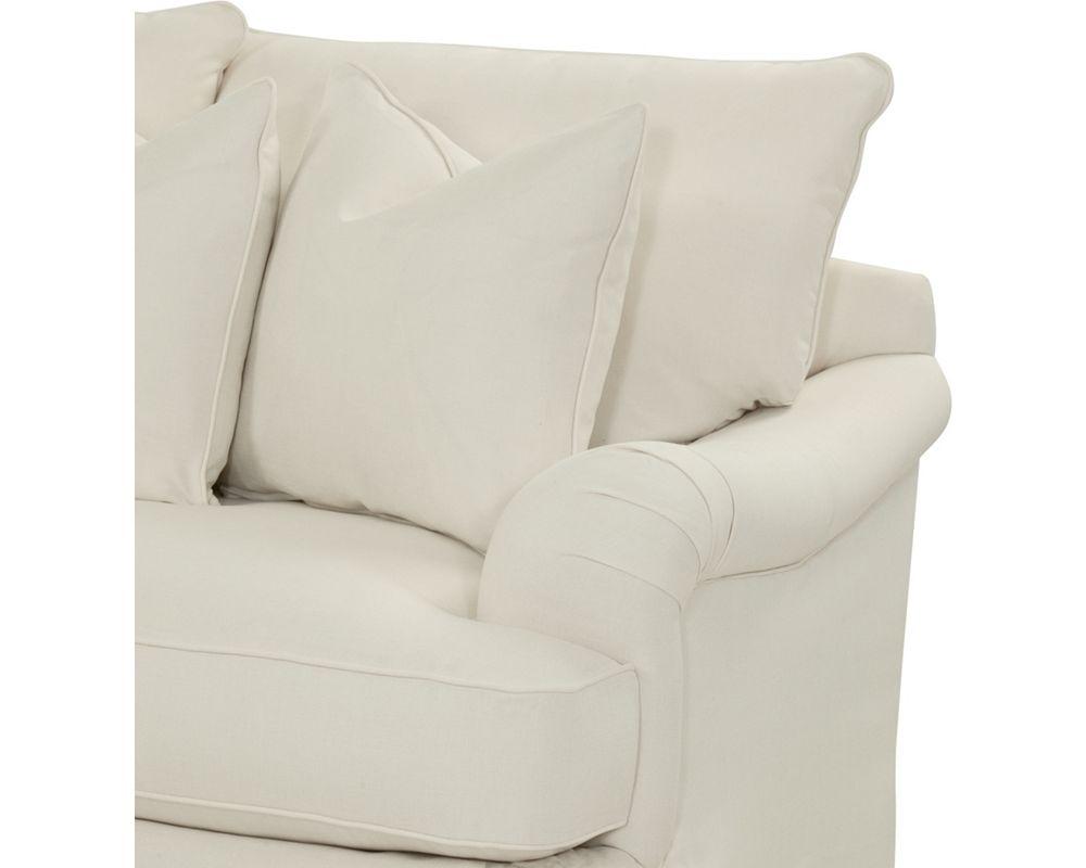 Portofino 3 Seat Sofa English Arm Skirted Sofas