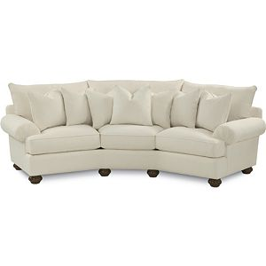 Portofino Wedge Sofa (Pleated Arm)