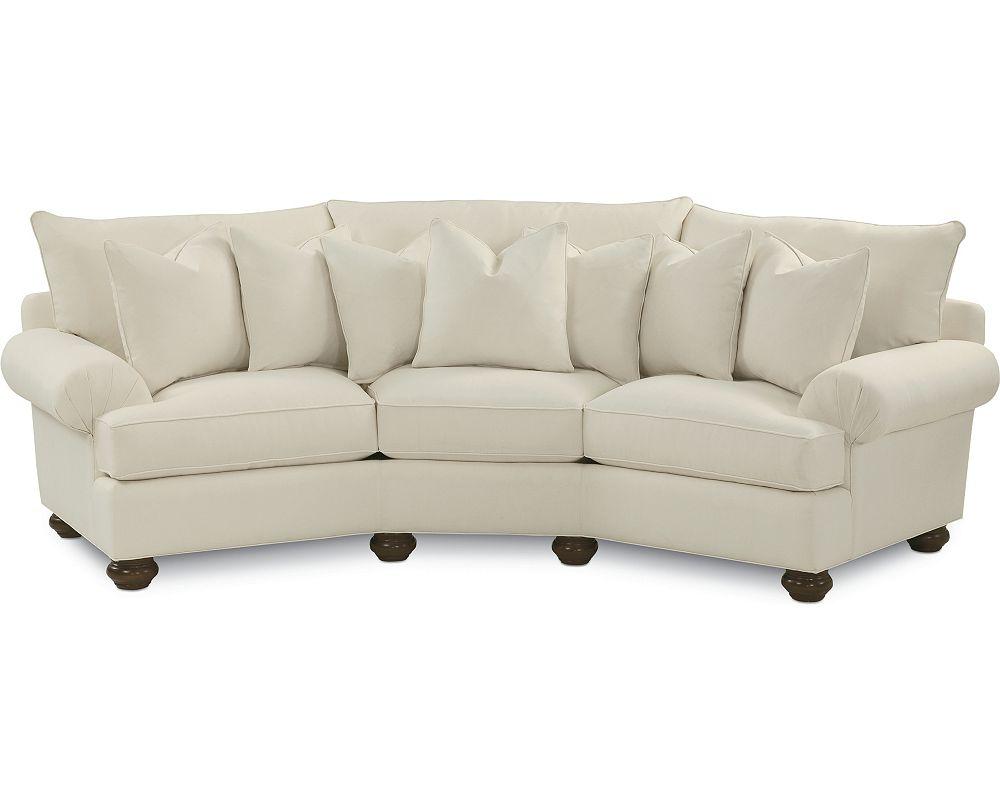 Portofino Wedge Sofa (Pleated Arm)