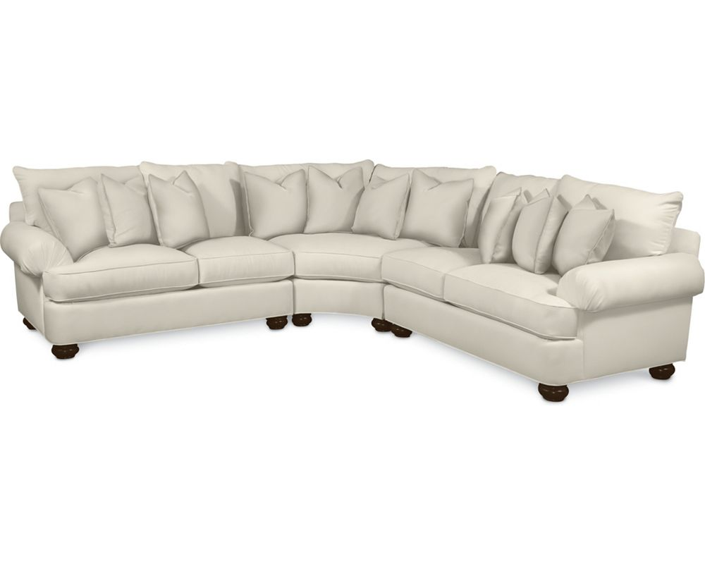 Portofino Sectional (Pleated Arm)