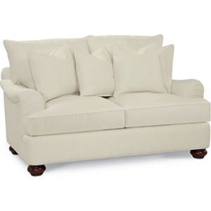 Portofino Loveseat (English Arm, Bun Foot)