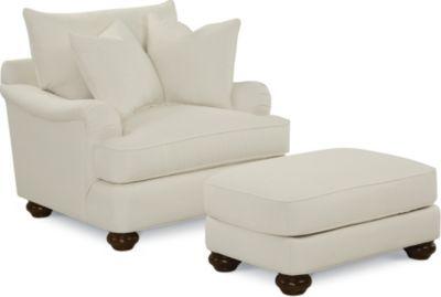 Portofino Ottoman (Bun Foot)  sc 1 st  Thomasville Furniture & Portofino Ottoman (Bun Foot) | Thomasville Furniture