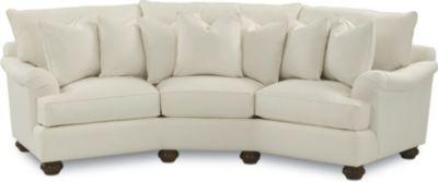 Portofino Wedge Sofa (English Arm, Bun Foot) Pictures Gallery