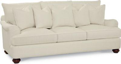 Portofino 3 Seat Sofa (English Arm, Bun Foot)
