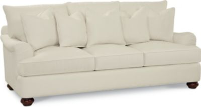 Portofino Large Sofa (English Arm, Bun Foot)