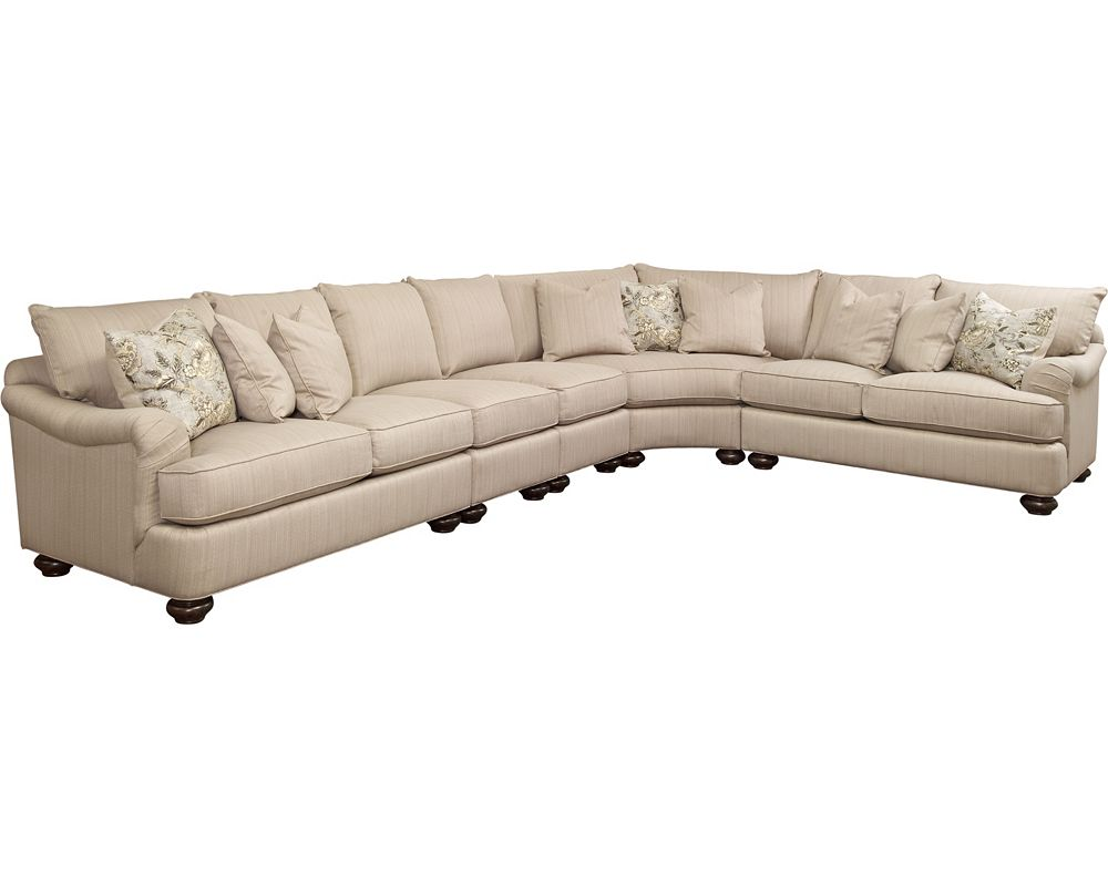 Thomasville sectional sofas sectionals living room for Thomasville sectional sleeper sofa