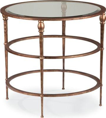 Stiletto Round Lamp Table