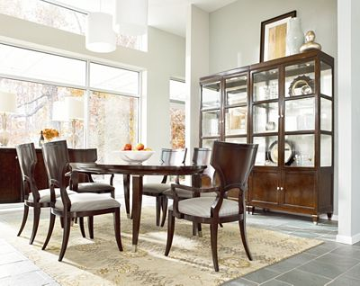 oval dining table | thomasville furniture