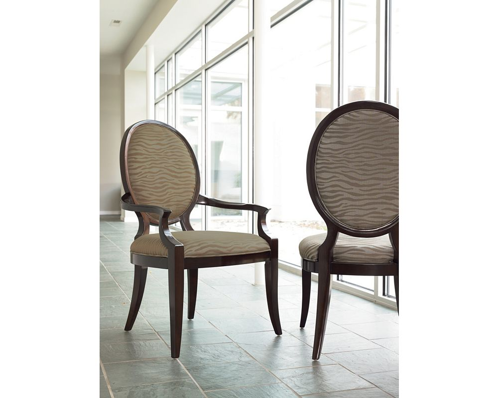 Spellbound Upholstered Arm Chair Zoom In