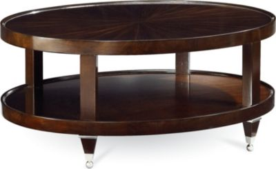 Superb Spellbound Oval Cocktail Table