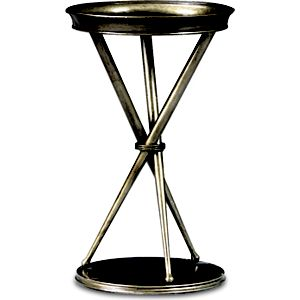 Spellbound Metal Chairside Table