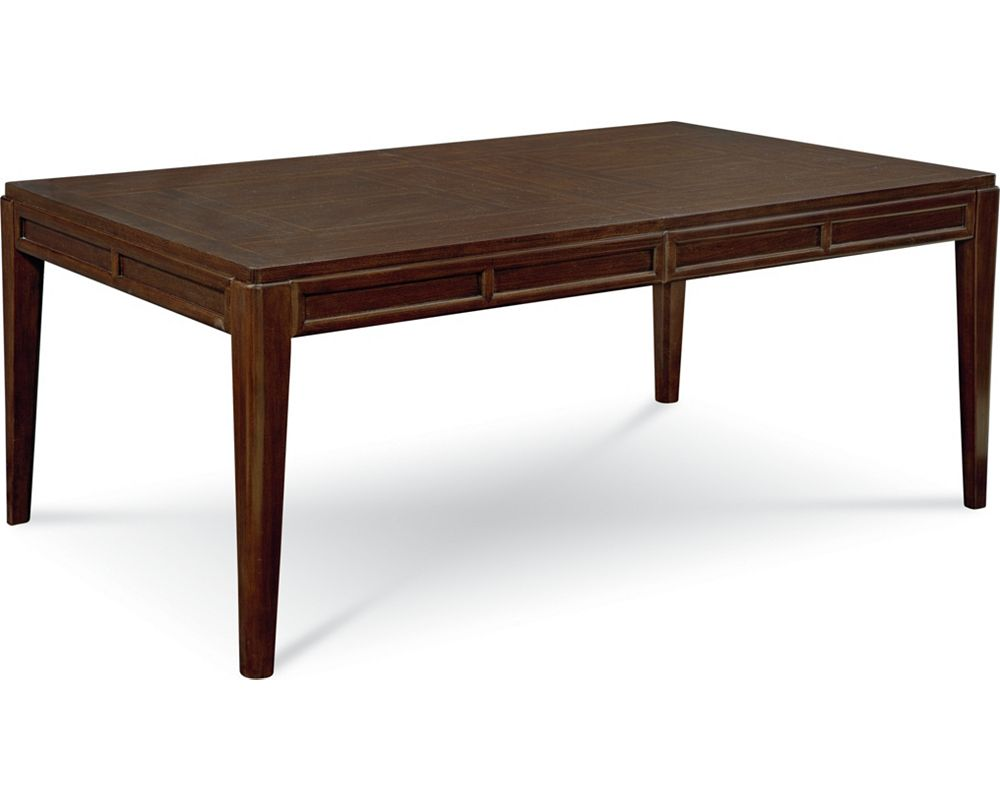 Lantau rectangular dining table thomasville furniture for Dinner table wood