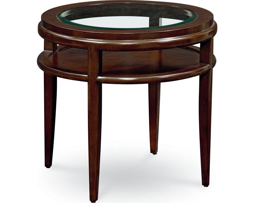 Lantau Round Lamp Table
