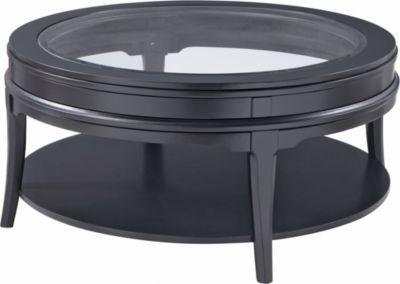 Manuscript Round Cocktail Table