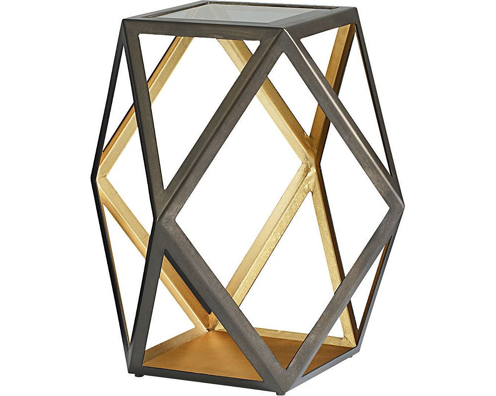 Rhombus Accent Table