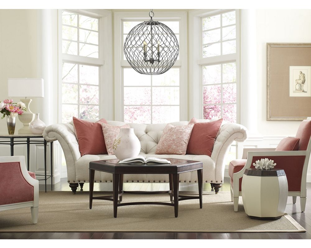 Escaya Drum Table | Living Room Furniture | Thomasville Furniture