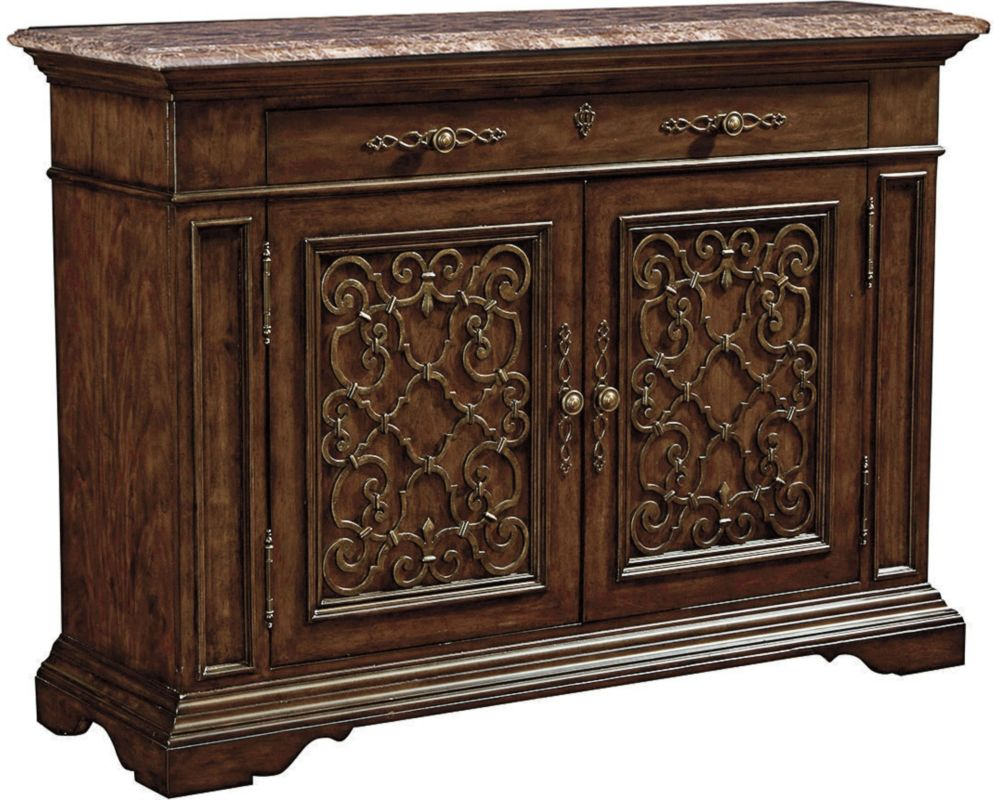 Ernest hemingway brasserie buffet marble top maduro thomasville furniture - Marble tops for furniture ...