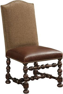 Ernest Hemingway® Maestro Upholstered Side Chair (Maduro)