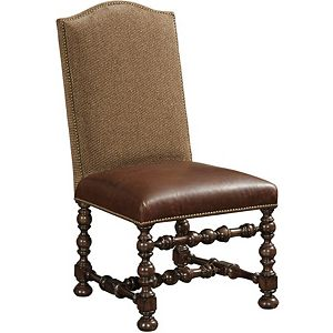 Ernest Hemingway® Maestro Upholstered Side Chair (Maduro)