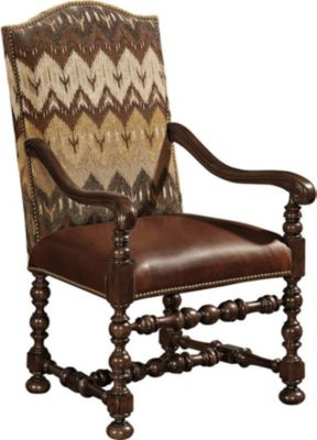 Incroyable Ernest Hemingway® Maestro Upholstered Arm Chair (Maduro)