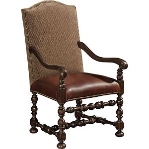 Ernest Hemingway® Maestro Upholstered Arm Chair (Maduro)