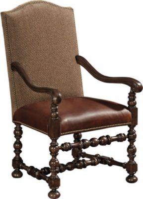 Ernest Hemingway® Maestro Upholstered Arm Chair (Maduro)