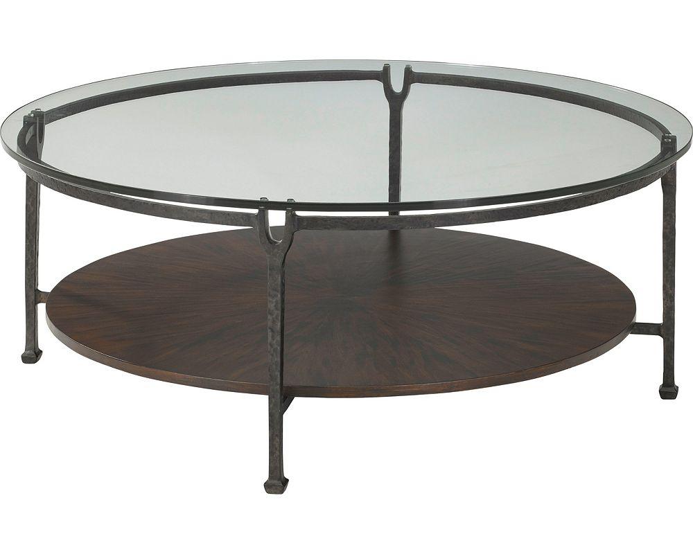 Ernest Hemingway® Clarity Round Cocktail Table (Maduro)