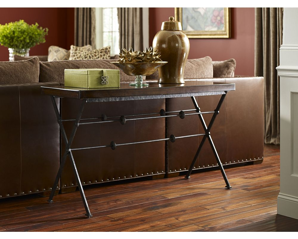 Ernest hemingway prologue console table thomasville furniture geotapseo Gallery