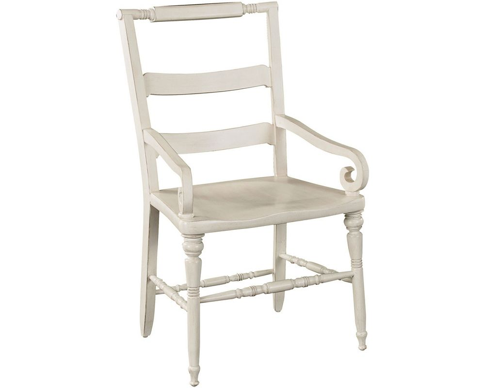 Scandia Lily's Arm Chair (Aged Linen)