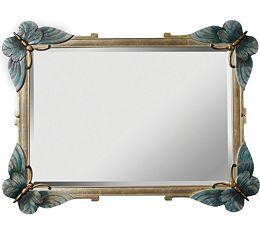 Paris Butterfly Mirror