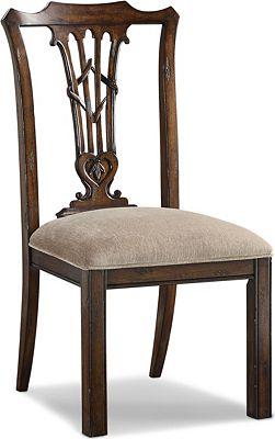 Britain Celtic Heart Side Chair