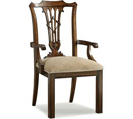 Britain Celtic Heart Arm Chair