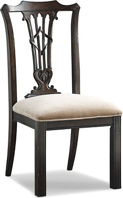 Britain Celtic Heart Side Chair
