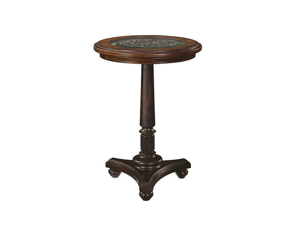 Britain Shilling Chairside Table