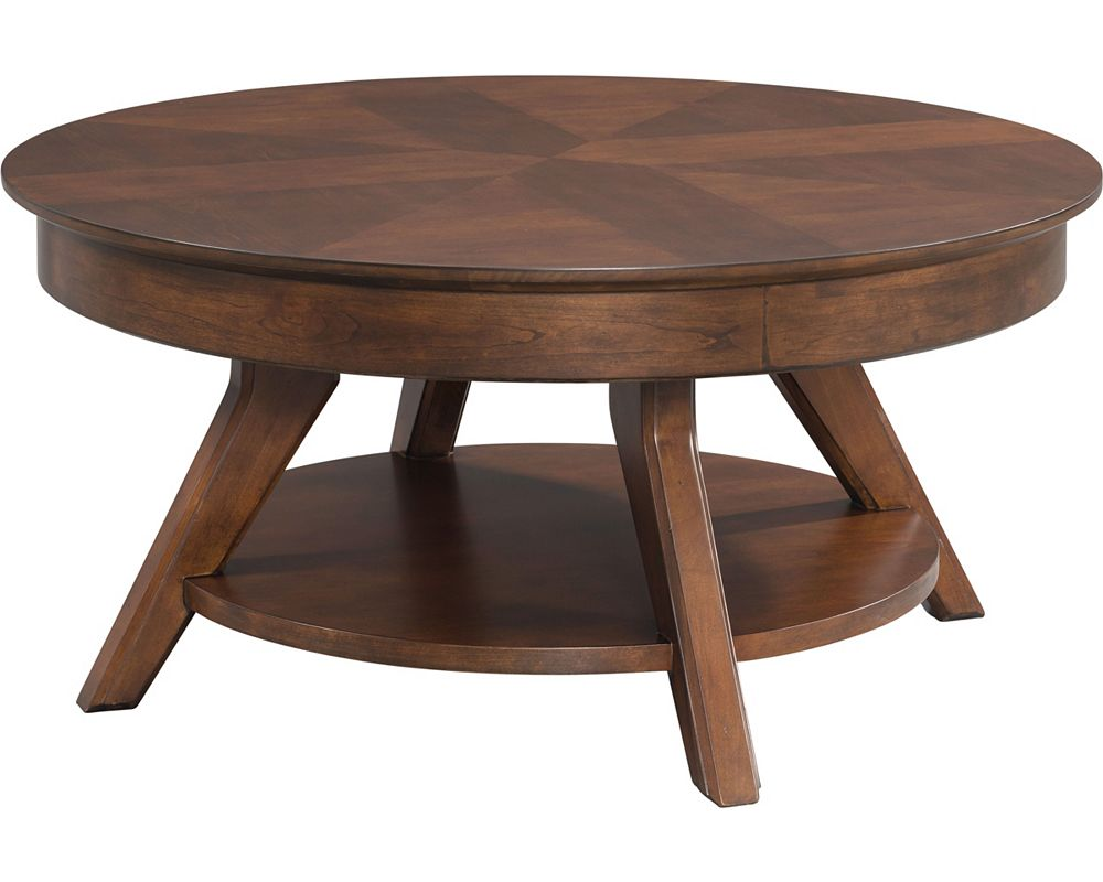 Studio 1904 round cocktail table thomasville furniture for Cocktail tables round
