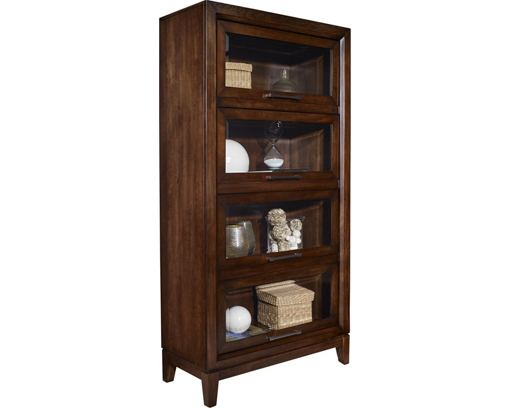 Studio 1904 Tall Lawyer Bookcase - Bookcases and Cabinets - Living ...