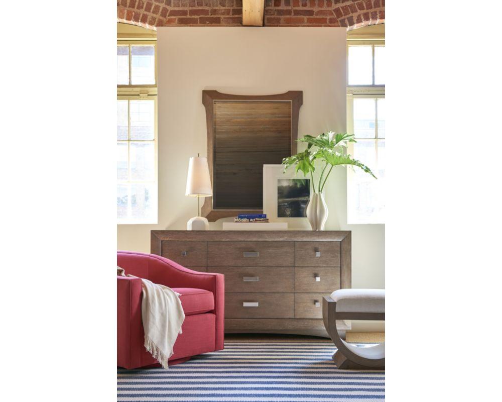 Anthony baratta arden dresser thomasville furniture for Anthony baratta luna upholstered bed