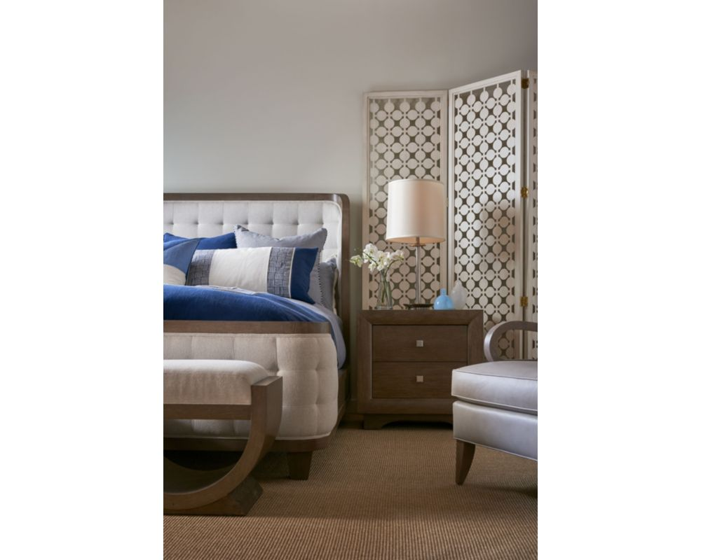 anthony baratta luna upholstered bed thomasville furniture