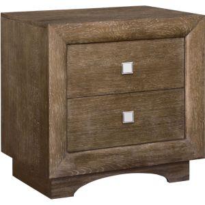 Nightstands bedroom thomasville furniture for Anthony baratta luna upholstered bed